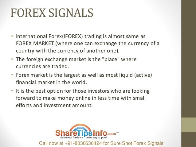 Forex trading signals daily