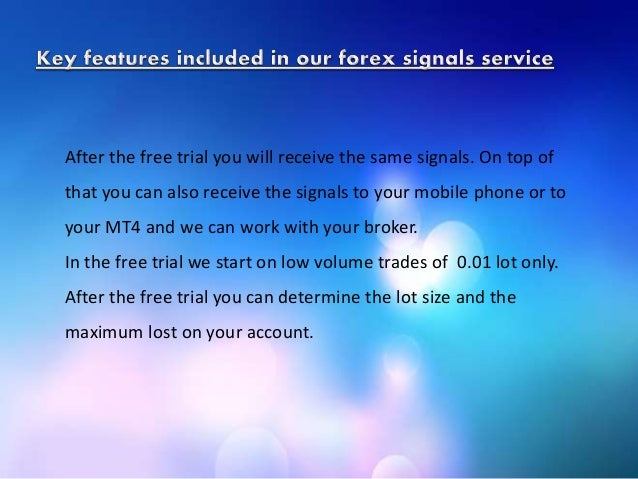 Top forex signals free