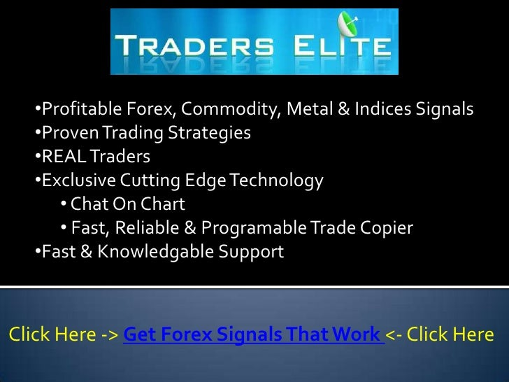 Trading signals that work