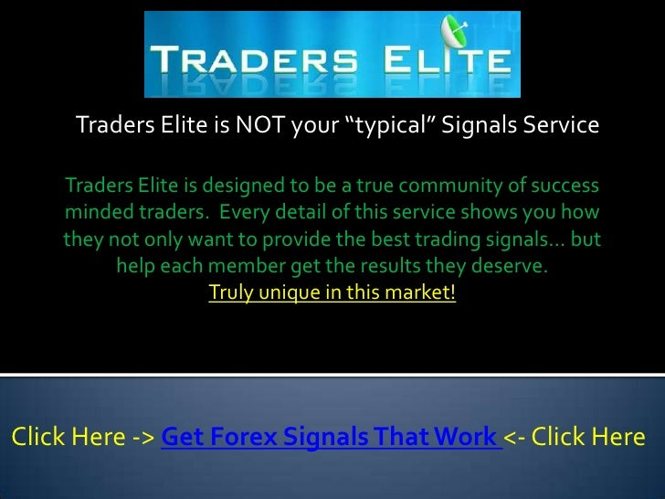 Do forex signals work