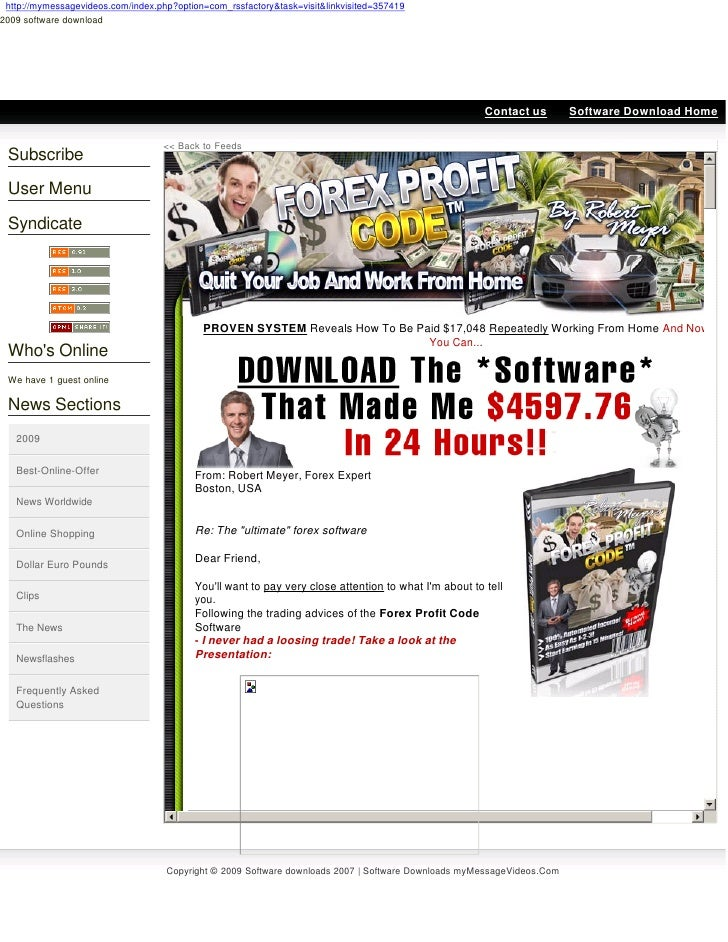 http://mymessagevideos.com/index.php?option=com_rssfactory&task=visit&linkvisited=357419 2009 software download      2009 ...