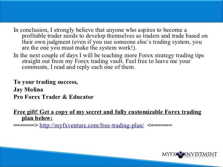 Very high probability forex strategy