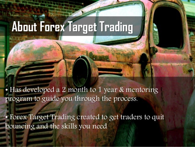 Forex target trading youtube