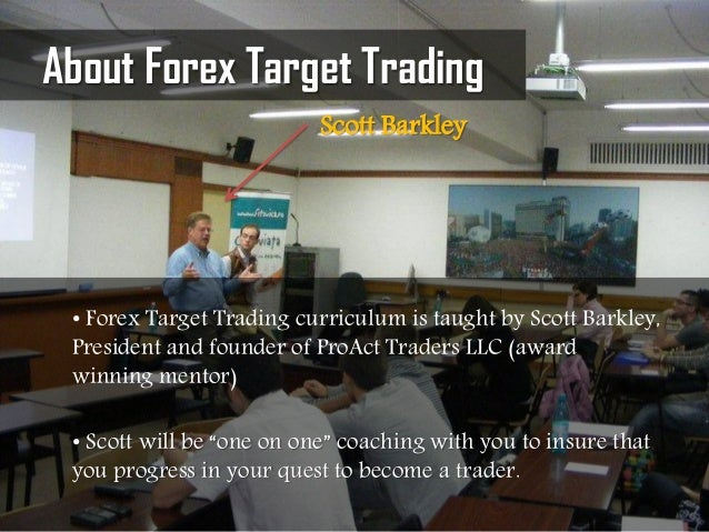 Scott barkley forex