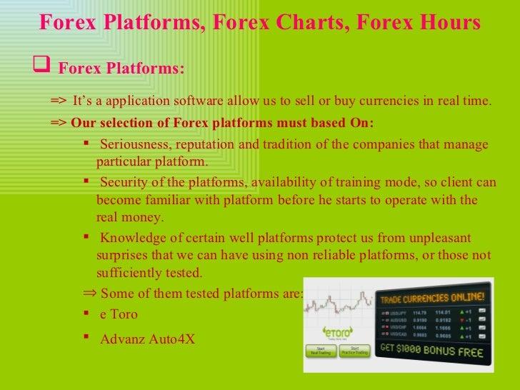 Forex slide presentation