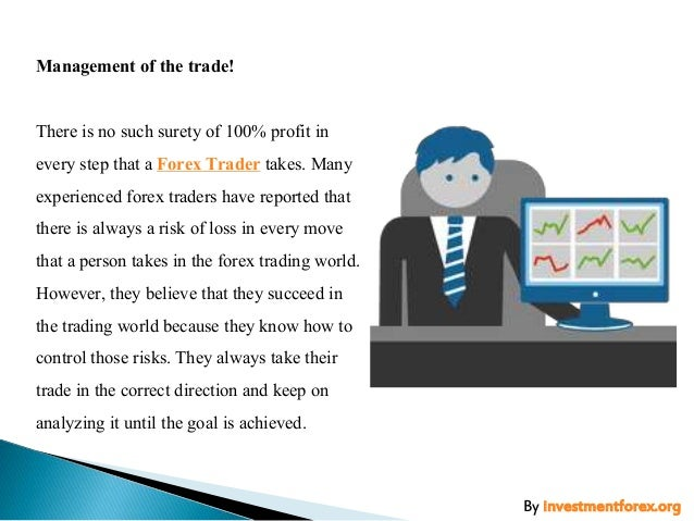 A successful forex trader