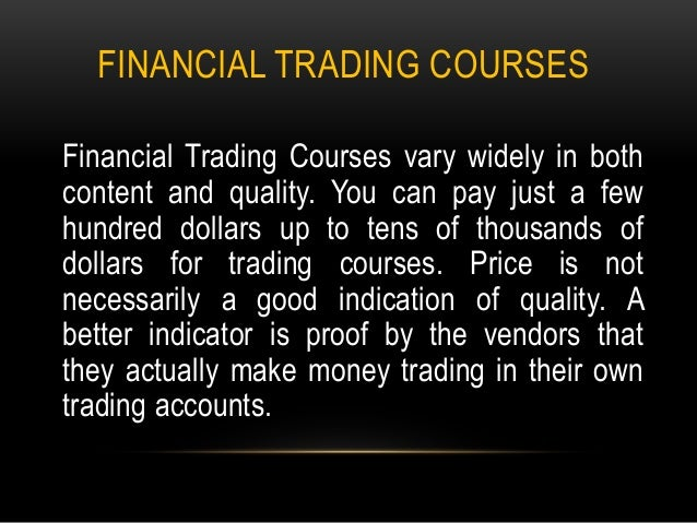 Alpha Trading Floor - London Forex Courses and Training Workshops Online