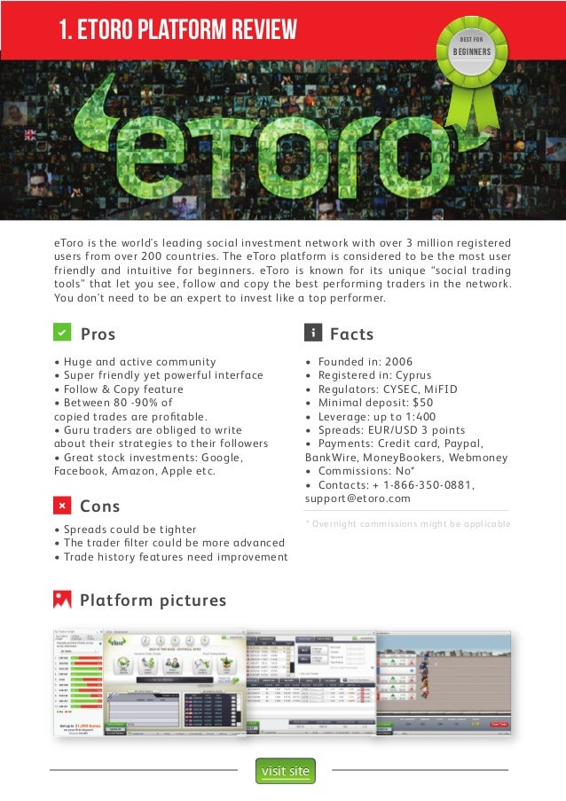 Etoro forex bonus