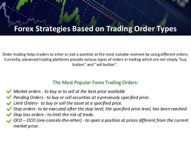 Forex oco strategy