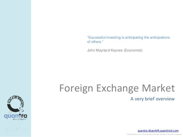 Forex trade presentation.