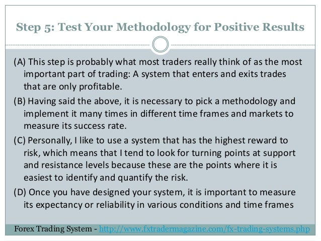 Trading system rules
