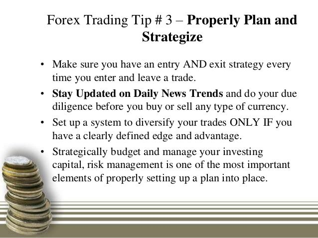 Plan your forex exit strategy