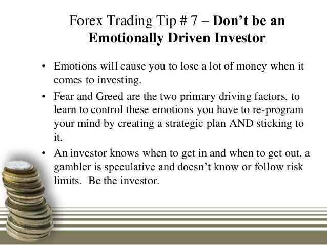 Forex trading tips investment advice