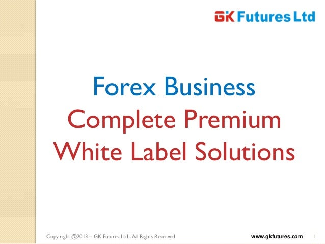 White label forex broker