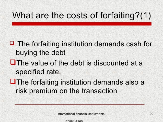 What is Factoring and Forfaiting – Key Differences