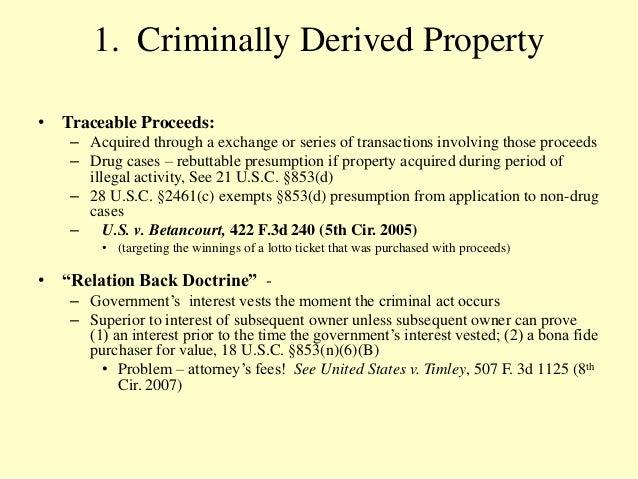 Relation Back Doctrine Real Property