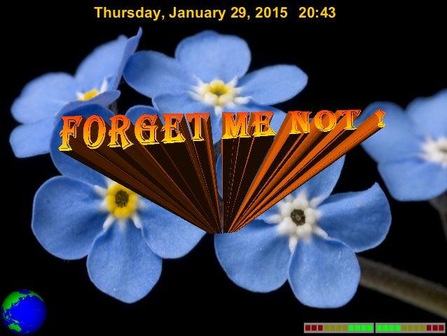 Thursday, January 29, 2015 20:43