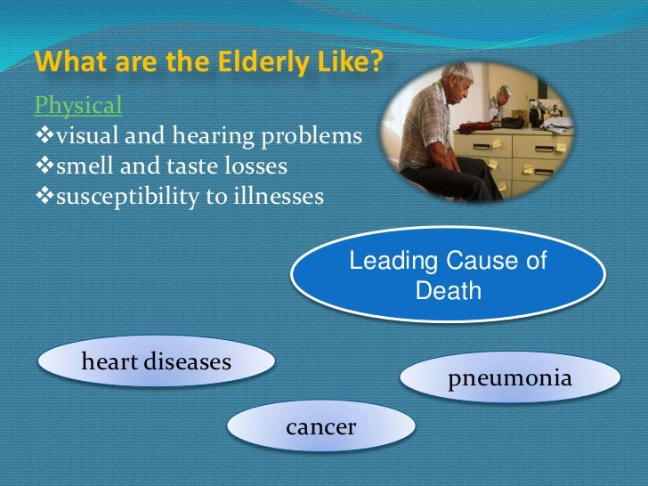 Issues effecting the elderly