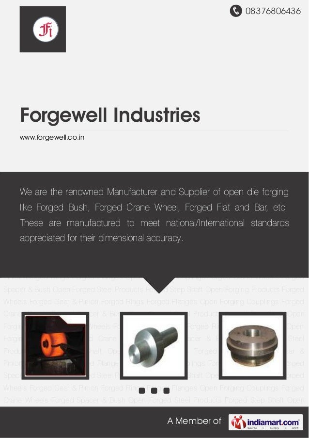 08376806436A Member ofForgewell Industrieswww.forgewell.co.inOpen Forged Steel Products Forged Step Shaft Open Forging Pro...