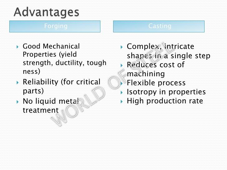 die casting advantages and disadvantages pdf