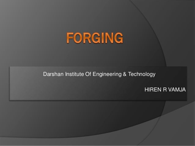 Darshan Institute Of Engineering & Technology HIREN R VAMJA