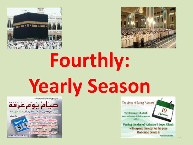 Fourthly: Yearly Season 13