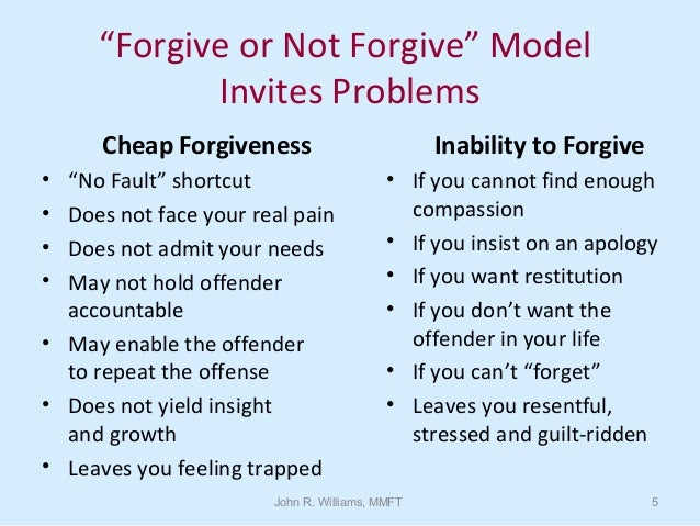 Forgiveness, Acceptance & Moving On: How to Better Recover from Hurts