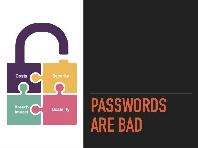 Forgot Password? Yes I Did! Slide 3