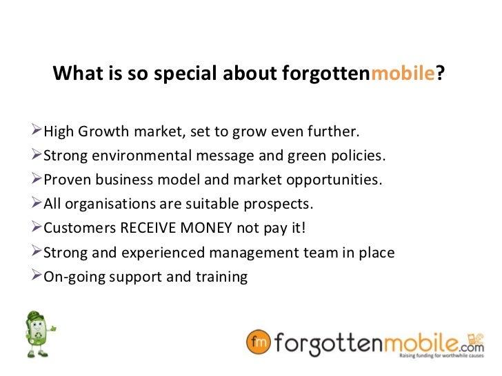 Forgotten mobile own business Slide 3