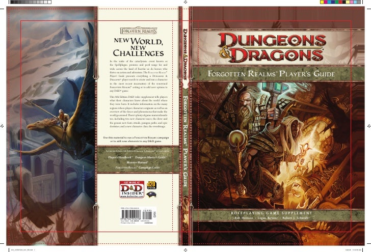 Forgotten Realms Players Guide