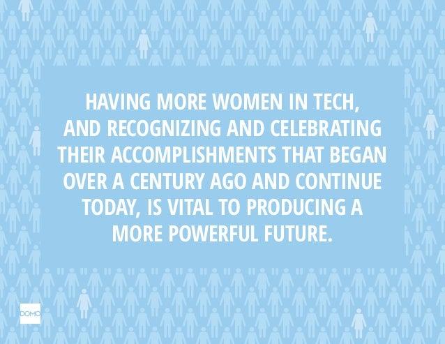 Forgotten women in tech history. Slide 2