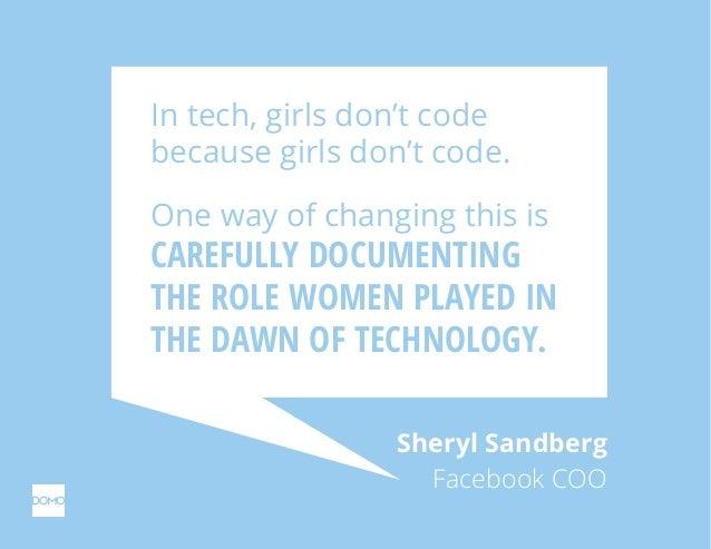 Forgotten women in tech history. Slide 3