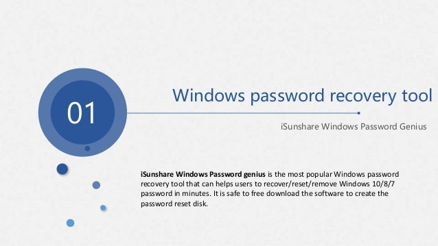 free password recovery software for windows 8