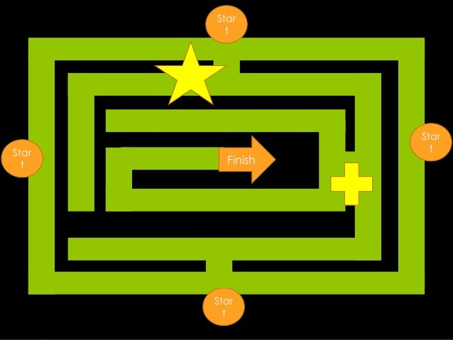 Sample Maze Game In Power Point
