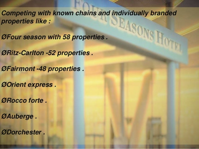 """brand and rosewood hotels It is suggested that as part of the corporate branding, individual hotels should carry a caption underneath its individual brands as """"a rosewood group"""" instead of adding rosewood before each individual brand."""