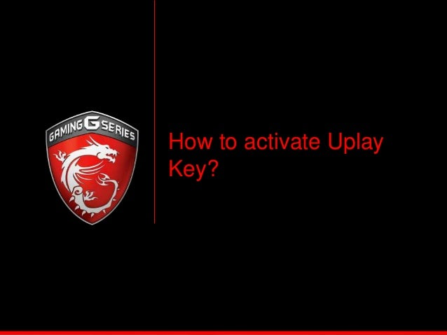 activation a key uplay