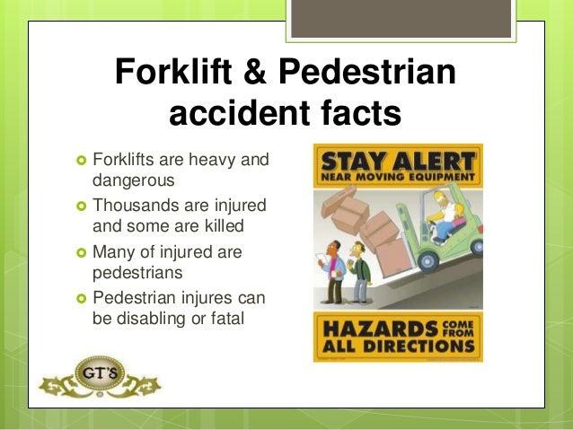 Forklift and pedestrian safety