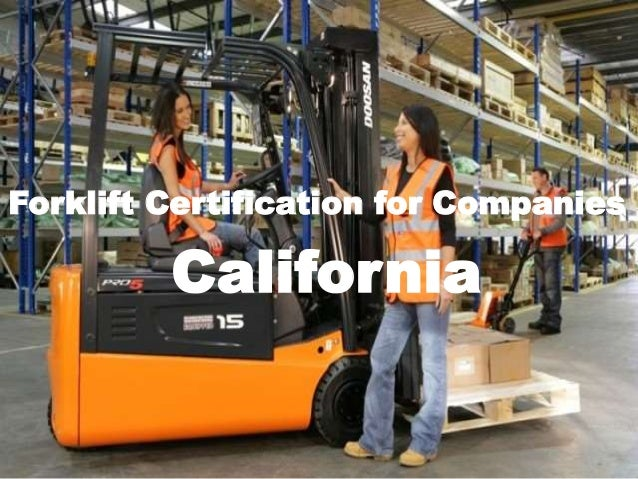California Forklift Certification Image Collections Certificate Template Free