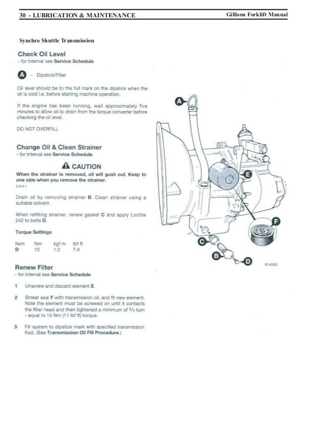 forklift manual rh slideshare net Wiring Diagram for a JCB Bobcat S220 Wiring Schematic