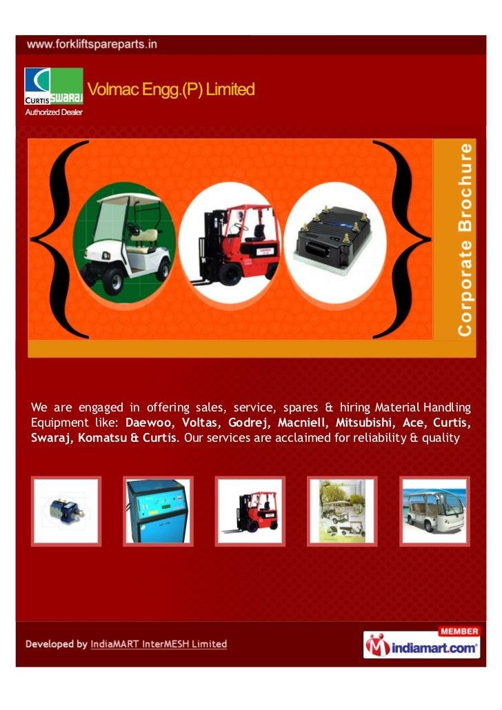 Volmac Engg (P) Limited, New Delhi, Curtis Controller