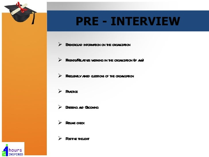 typical interview questions and how to answer them