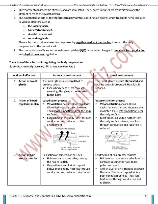 Biology form 5 notes