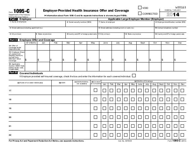 form1095c-1-638  Form Examples For C Co on employee communication, examples for cobra, instructions fill,