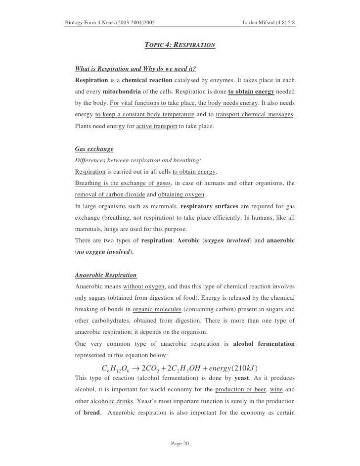 Grade 12 Biology Notes Pdf
