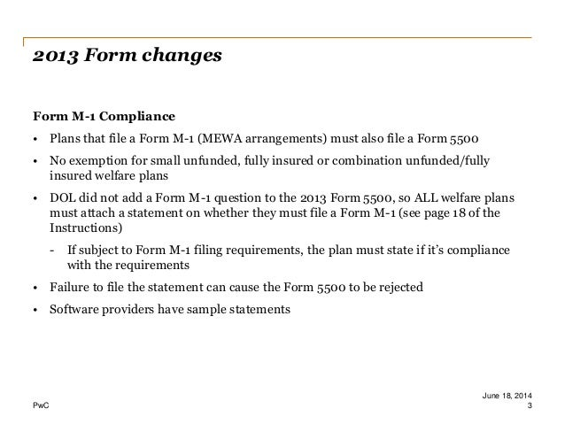 Form 5500 Update 061614