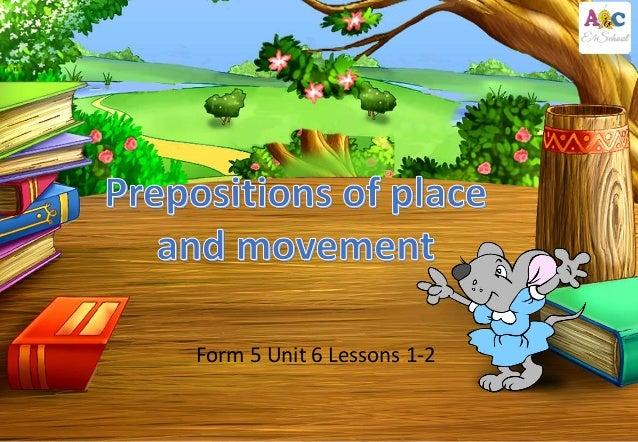 Form 5 Unit 6 Lessons 1-2