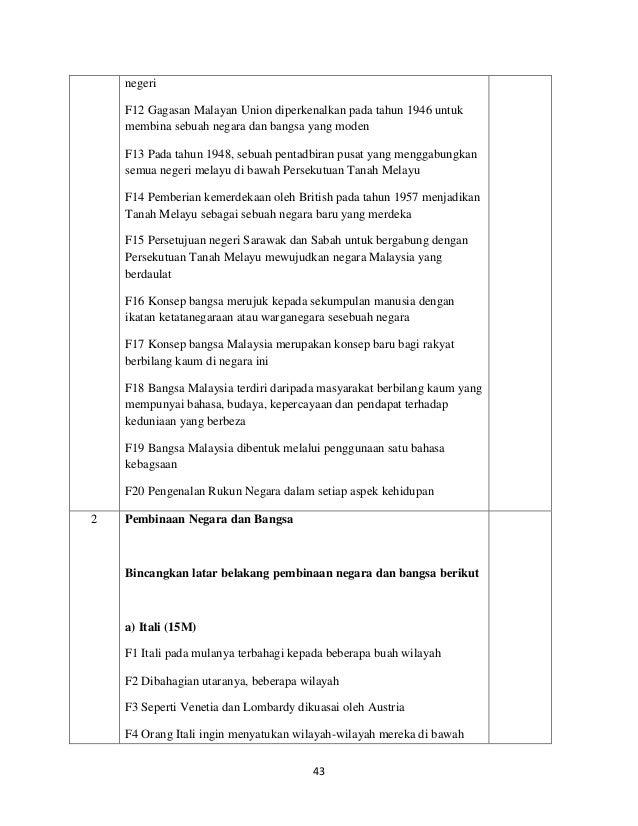 Sejarah Soalan Skema Jawapan Kertas 3 Tingkatan 5