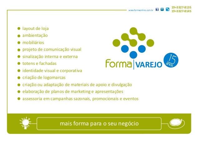19+3327-8135                                                   www.formaonline.com.br                                     ...