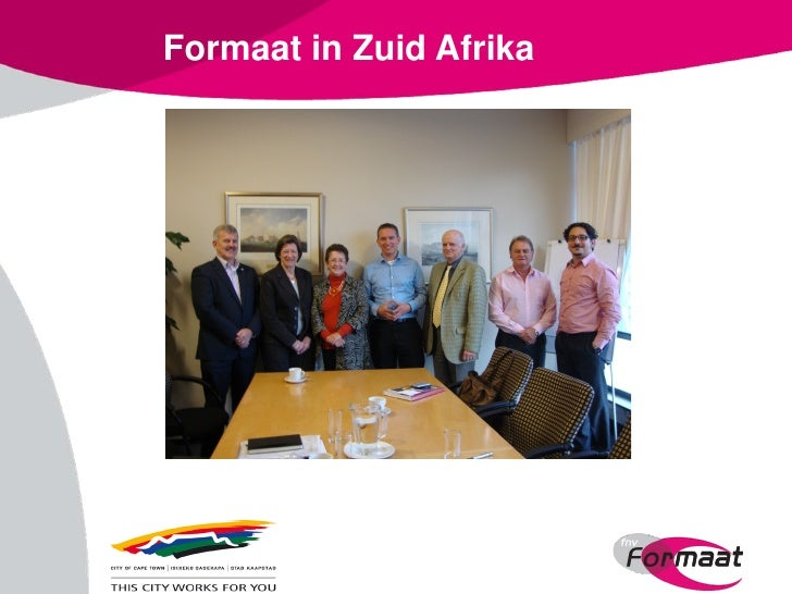 Formaat in Zuid Afrika