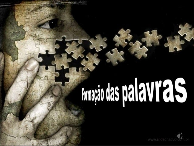 A LÍNGUA PORTUGUESA utiliza diferentes recursos para criar novas palavras. Prof. Céu Marqueswww.slidecriativo.com.br